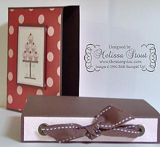 Cupcake Box open