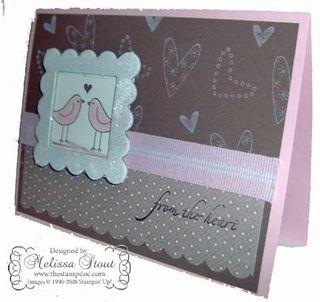 Lovebird card