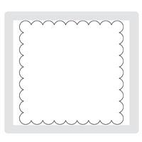 Scallop square