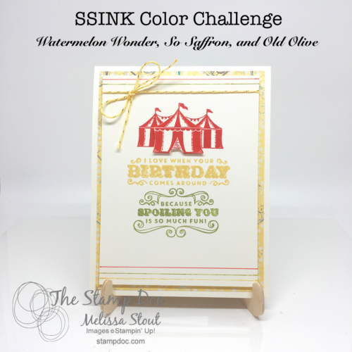 Carousel Birthday Color Challenge