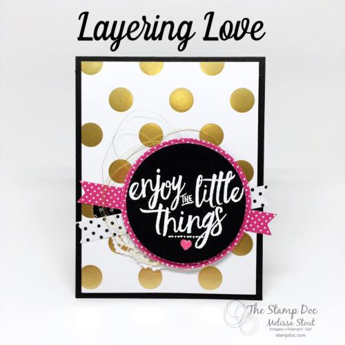Layering Love stamp set