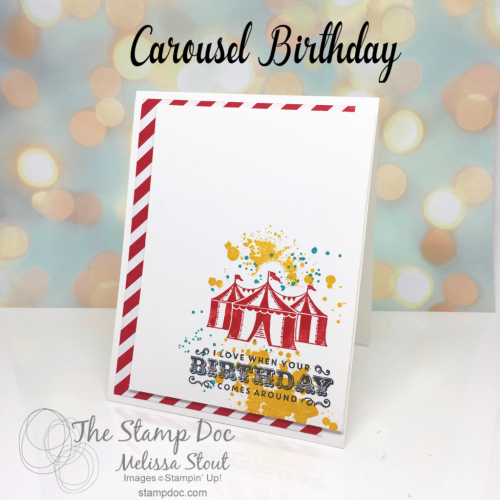 Carousel Birthday