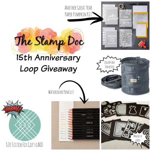 The Stamp Doc Loop Giveaway