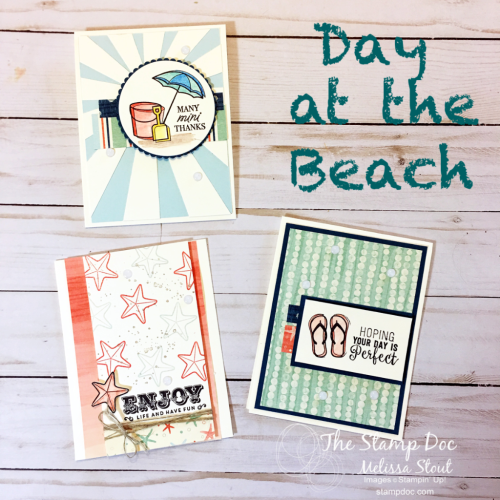 Day at the Beach cards