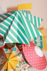 April Showers Umbrella Decor Set SP