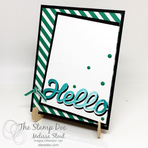 Vertical Garden Hello card